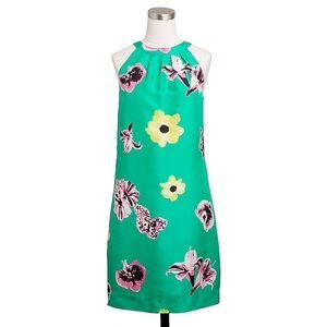 JCrew Swoop Dress in Punk Floral Dress